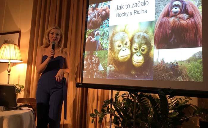 Přednáška v Prague Business Club o ochraně kriticky ohrožených druhů zvířat v praxi